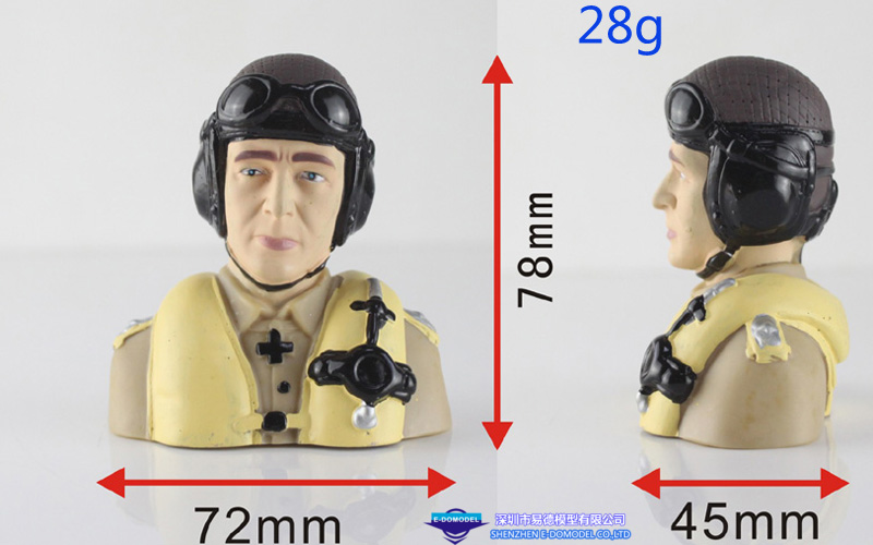 1/6 RC Pilot Yellow